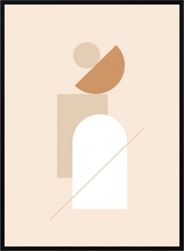 Plakat Minimalistyczny Abstrakcja