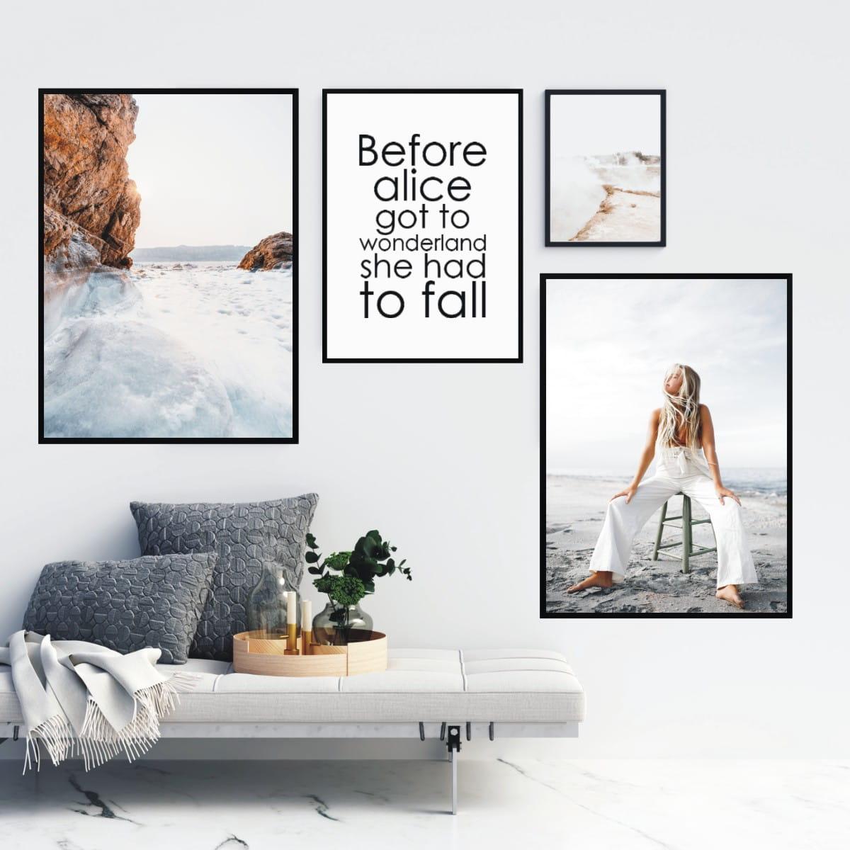 Plakat Kobiety Na Plaży